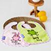 Milk&Moo Çaça Kurbağa ve Çançin 2'li Havlu Önlük Seti. ürün görseli