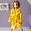 Milk&Moo Arı Vız Vız Anne Çocuk 2'li Kadife Bornoz Seti . ürün görseli
