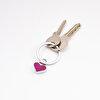 Nektar J03-011 Kırmızı Kalp Metal Anahtarlık. ürün görseli