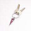 Nektar G08-085 Kırmızı Üçgen Metal Anahtarlık. ürün görseli