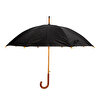 PromoNet Ahşap Saplı Fiber Glass Kırılmaz Şemsiye. ürün görseli