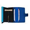 WalSmart Mini Basketto Akıllı Mekanizmalı Deri Cüzdan WMB02 Mavi. ürün görseli