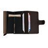 WalSmart Mini Basketto Akıllı Mekanizmalı Deri Cüzdan WMB06 Kahverengi. ürün görseli