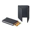 WalSmart Pro Safiano Akıllı MekanizmalıDeri Cüzdan WPS03 Füme. ürün görseli