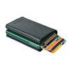 WalSmart Pro Safiano Akıllı MekanizmalıDeri Cüzdan WPS04 Nefti. ürün görseli