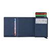 WalSmart Pro Safiano Akıllı MekanizmalıDeri Cüzdan WPS05 Lacivert. ürün görseli
