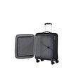 American Tourister Crosstrack - Spinner 4 Tekerlekli Kabin Boy Valiz 55 cm Siyah. ürün görseli