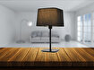 Avonni Hml-9071-1Bs Siyah Boyalı Masa Lambası. ürün görseli