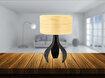 Avonni Ml-9045-1E Eskitme Kaplama Masa Lambası. ürün görseli