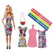 Barbie ve Crayola Renkli Kıyafetler. ürün görseli