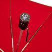 Biggbrella 07321-Q238 El Fenerli Kırmızı Şemsiye. ürün görseli