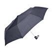 Biggbrella 1088Pr Kauçuk Saplı Otomatik Şemsiye Gri Kareli. ürün görseli