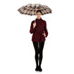 Biggbrella 3401E2 Mini Şemsiye Kareli. ürün görseli
