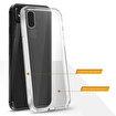 Buff iPhone Xs Max Air Hybrid Kılıf Crystal Clear. ürün görseli
