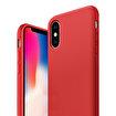 Buff iPhone Xs/X Rubber Fit Kılıf Red. ürün görseli