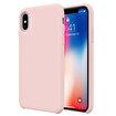 Buff iPhone Xs/X Rubber Fit Kılıf Pink Sand. ürün görseli