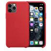 Buff iPhone 11 Pro Rubber Fit Kılıf Red. ürün görseli