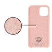 Buff iPhone 11 Pro Max Rubber Fit Kılıf Pink Sand. ürün görseli