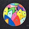 Biggdesign Bereket Balıkları Fermuarlı Keçe Çanta. ürün görseli
