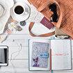 Biggdesign Owl and City Keçe Pasaport Kabı. ürün görseli