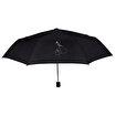Biggdesign Mr. Allright Man Siyah Şemsiye. ürün görseli