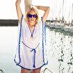 Biggdesign Pompom Plaj Elbisesi. ürün görseli