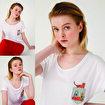 BiggDesign Cats Cepte Kedi T-Shirt. ürün görseli