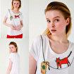 Biggdesign Cambaz Kedi T-Shirt. ürün görseli