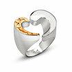 Biggdesign Kalp Gümüş Yüzük. ürün görseli