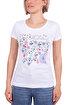 Biggdesign Enjoy Istanbul Beyaz Kadın T-Shirt. ürün görseli