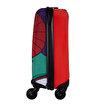 BiggDesign Şemsiyeli Kız Kabin Boy Kanvas Valiz 18 inch. ürün görseli