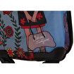 BiggDesign Çiçekli Kız Kabin Boy Kanvas Valiz 18 inch. ürün görseli