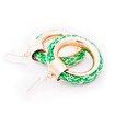 Anemoss Yeşil Kolye Küpe Seti. ürün görseli