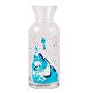 Anemoss Çipura Desenli 500 ml Bardaklı Cam Sürahi. ürün görseli