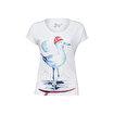 Anemoss Martı Beyaz Kadın T-Shirt. ürün görseli