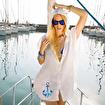 Anemoss Kapüşonlu Plaj Elbisesi. ürün görseli