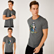 Biggdesign Nature Ormanın Kralı Erkek T-shirt. ürün görseli