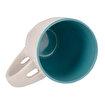 BiggDesign Nature Mavi Kaşıklı Seramik Kupa. ürün görseli