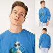 Biggdesign Nature Ormanın Kralı Erkek Sweatshirt. ürün görseli