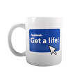 Boomug Get A Life Seramik Kupa. ürün görseli