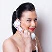 Biggphone Retro Telefon Ahizesi Desenli Mor. ürün görseli