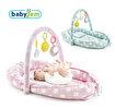 Babyjem Oyuncaklı Anne-Baba Yanı Yatağı Yeşil. ürün görseli