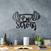 Bystag BYSM-103 Be Strong Metal Duvar Dekoru. ürün görseli