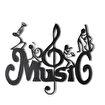 Bystag BYSM-142 Music Metal Duvar Dekoru. ürün görseli