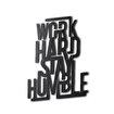 Bystag BYSM-170 Work Hard Stay Humble Metal Duvar Dekoru. ürün görseli