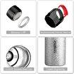 Feijian FS-066-13A-01 660 ml Beyaz Çelik Termos. ürün görseli