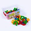 Dede Clıck Clack Puzzle Küçük Box (96 Prç)  . ürün görseli