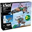 K'Nex Turbo Jet 2 Model (Motorlu) Building Set . ürün görseli