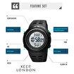 Keep London Vücut ve Ortam Isısı Ölçer Lcd Ekran Dijital Unisex KPLKLD00301 Kol Saati. ürün görseli