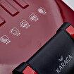 Karaca Future Granit Kırmızı Tost Makinesi 1800W. ürün görseli